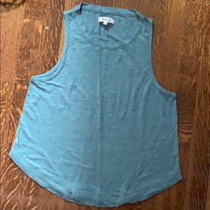 Madewell tank in cool linen fabric